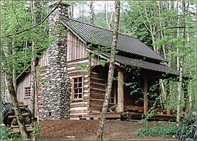 Antique log cabins best 2000 antique decor ideas for Hand hewn log cabin kits